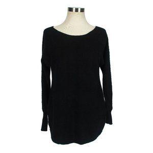 Halogen 100% Cashmere Sweater Shirt Tails